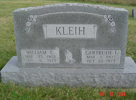 KLEIH, WILLIAM C. - Clayton County, Iowa | WILLIAM C. KLEIH