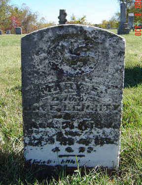 LEIGHTY, MARY E. - Clayton County, Iowa   MARY E. LEIGHTY