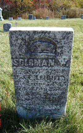 LEIGHTY, SOLOMAN W. - Clayton County, Iowa | SOLOMAN W. LEIGHTY
