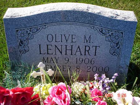 LENHART, OLIVE M. - Clayton County, Iowa | OLIVE M. LENHART