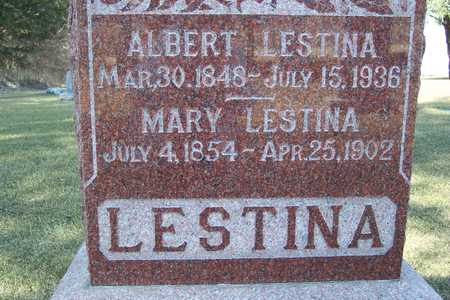 LESTINA, MARY - Clayton County, Iowa | MARY LESTINA