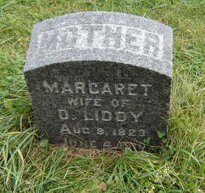 LIDDY, MARGARET - Clayton County, Iowa | MARGARET LIDDY