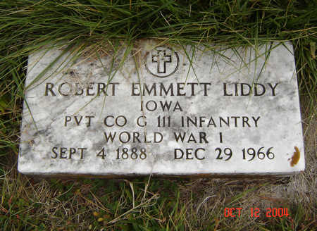 LIDDY, ROBERT EMMETT - Clayton County, Iowa | ROBERT EMMETT LIDDY