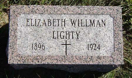 WILLMAN LIGHTY, ELIZABETH - Clayton County, Iowa | ELIZABETH WILLMAN LIGHTY