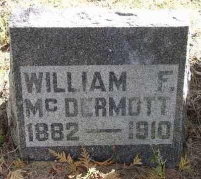 MCDERMOTT, WILLIAM - Clayton County, Iowa   WILLIAM MCDERMOTT