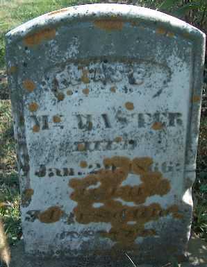 MCMASTER, ELIAS E. - Clayton County, Iowa | ELIAS E. MCMASTER