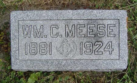 MEESE, WILLIAM C. - Clayton County, Iowa | WILLIAM C. MEESE