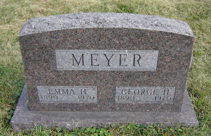 MEYER, EMMA H. - Clayton County, Iowa | EMMA H. MEYER