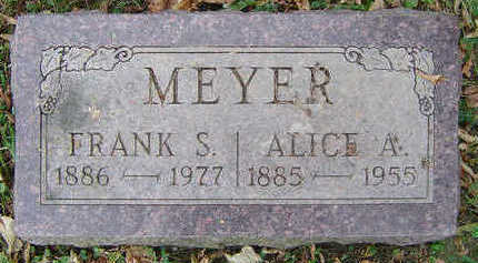MEYER, FRANK S. - Clayton County, Iowa | FRANK S. MEYER