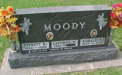 MOODY, EVERETT  R - Clayton County, Iowa | EVERETT  R MOODY