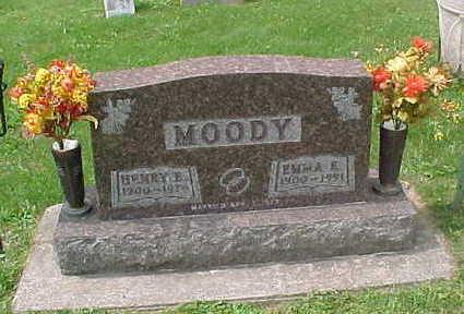 SHAW MOODY, EMMA  E. - Clayton County, Iowa | EMMA  E. SHAW MOODY