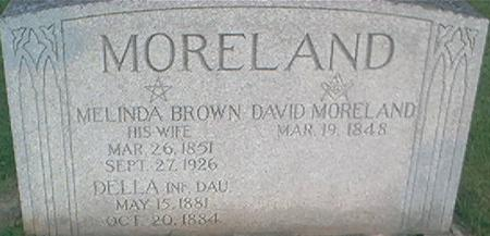 BROWN MORELAND, MELINDA - Clayton County, Iowa | MELINDA BROWN MORELAND