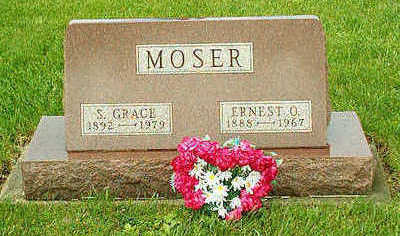 BROCKMEYER MOSER, SARAH GRACE - Clayton County, Iowa | SARAH GRACE BROCKMEYER MOSER