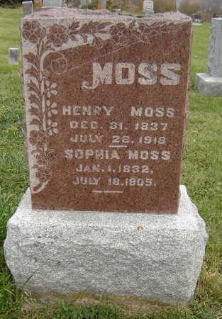 MOSS, SOPHIA - Clayton County, Iowa | SOPHIA MOSS