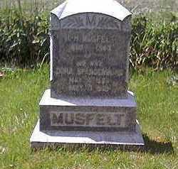 MUSFELT, DORA - Clayton County, Iowa | DORA MUSFELT