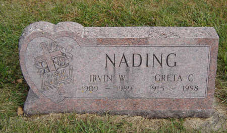 NADING, IRVIN W. - Clayton County, Iowa | IRVIN W. NADING