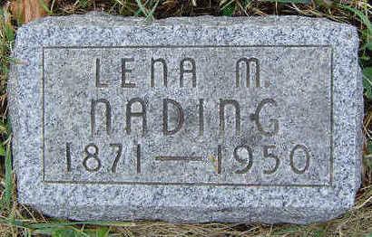 STALNAKER NADING, LENA M. - Clayton County, Iowa | LENA M. STALNAKER NADING