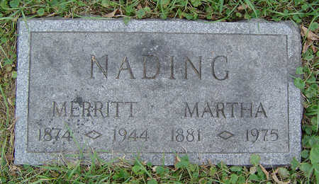 NADING, MARTHA - Clayton County, Iowa | MARTHA NADING