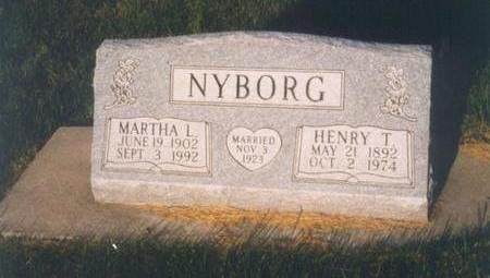 NYBORG, MARTHA - Clayton County, Iowa | MARTHA NYBORG