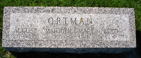 ORTMAN, MARIE - Clayton County, Iowa | MARIE ORTMAN