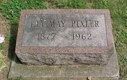 PIXLER, IDA MAY - Clayton County, Iowa | IDA MAY PIXLER