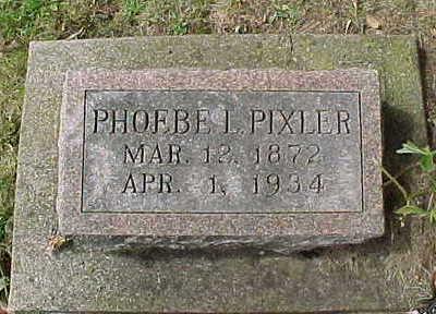 PIXLER, PHOEBE  L. - Clayton County, Iowa | PHOEBE  L. PIXLER