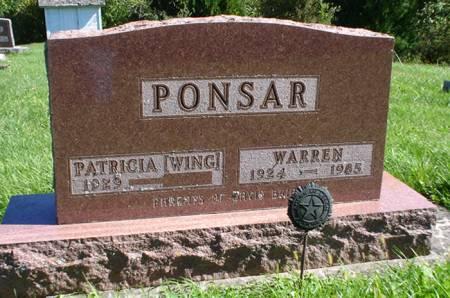 PONSAR, PATRICIA - Clayton County, Iowa | PATRICIA PONSAR