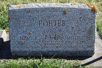 PORTER, MILDRED - Clayton County, Iowa | MILDRED PORTER