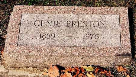 PRESTON, GENIE - Clayton County, Iowa | GENIE PRESTON