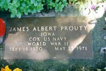 PROUTY, JAMES ALBERT - Clayton County, Iowa | JAMES ALBERT PROUTY