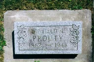 PROUTY, WINFIELD LINSFORD - Clayton County, Iowa | WINFIELD LINSFORD PROUTY