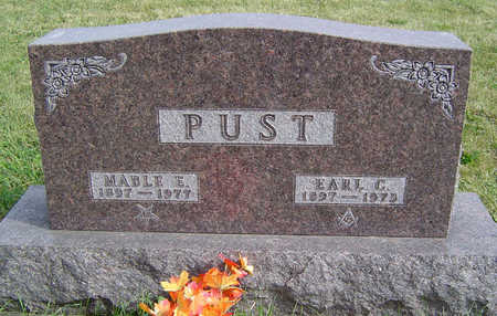 PUST, EARL C. - Clayton County, Iowa | EARL C. PUST