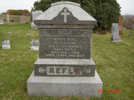 REFLE, MARY - Clayton County, Iowa | MARY REFLE