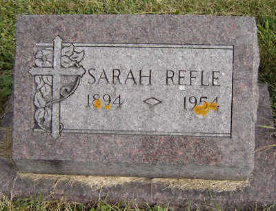 REFLE, SARAH - Clayton County, Iowa | SARAH REFLE