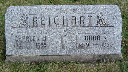 REICHART, ANNA K. - Clayton County, Iowa | ANNA K. REICHART