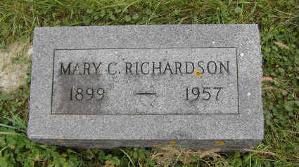 RICHARDSON, MARY C. - Clayton County, Iowa | MARY C. RICHARDSON