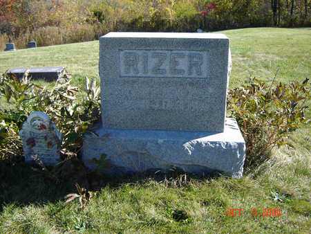RIZER, MARY JANE - Clayton County, Iowa | MARY JANE RIZER