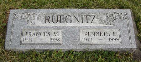 RUEGNITZ, KENNETH E. - Clayton County, Iowa   KENNETH E. RUEGNITZ