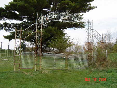 SACRED HEART - LITTLEPORT, CEMETERY - Clayton County, Iowa | CEMETERY SACRED HEART - LITTLEPORT
