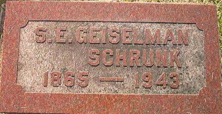 GEISELMAN SCHRUNK, S. E. - Clayton County, Iowa | S. E. GEISELMAN SCHRUNK