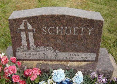 SCHUETY, HERMAN W. - Clayton County, Iowa | HERMAN W. SCHUETY
