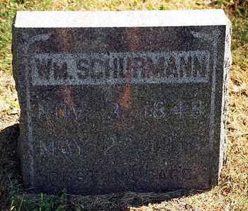 SCHURMANN, WM. - Clayton County, Iowa | WM. SCHURMANN