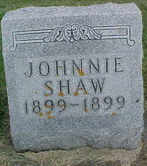 SHAW, JOHNNIE - Clayton County, Iowa | JOHNNIE SHAW