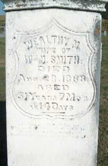 SMITH, WEALTHY M. - Clayton County, Iowa | WEALTHY M. SMITH