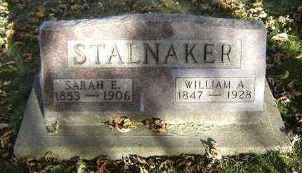 STALNAKER, WILLIAM A. - Clayton County, Iowa | WILLIAM A. STALNAKER