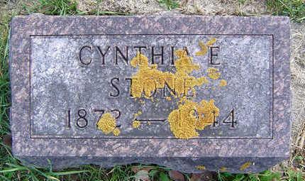 STONE, CYNTHIA E. - Clayton County, Iowa | CYNTHIA E. STONE