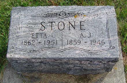 STONE, ETTA - Clayton County, Iowa | ETTA STONE