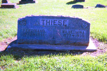 THIESE, FERDINAND - Clayton County, Iowa | FERDINAND THIESE