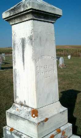 THOMPSON, S.H. - Clayton County, Iowa | S.H. THOMPSON