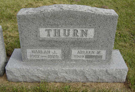 THURN, HARLAN J. - Clayton County, Iowa | HARLAN J. THURN